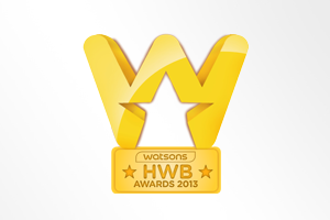 Taiwan: Watsons Health, Wellness and Beauty Award - The Best Category Partner